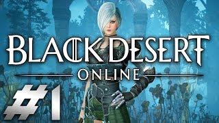 Black Desert Online Xbox One X Gameplay Part 1 Walkthrough