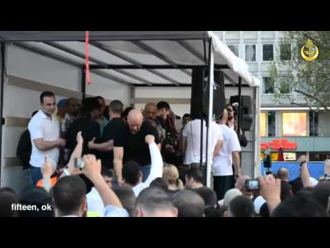 17 Warga Jerman menerima Islam Abu Hamza Pierre Vogel di Frankfurt