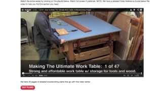Ultimate Work Table - Video Reference Guide - Playlist Details Explained By Mrs. Askwoodman