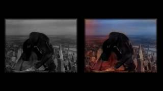king kong colorizebot neural network research deep learning coloring a b videoclip number 4