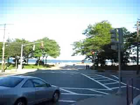 Walk From The Revere Beach T Stop To