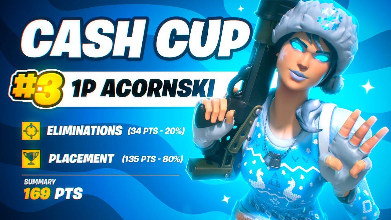Download 3RD PLACE SOLO CASH CUP 🏆 ($435)   Acorn