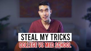 Steal My Productivity Tactics   College vs Med School vs Residency