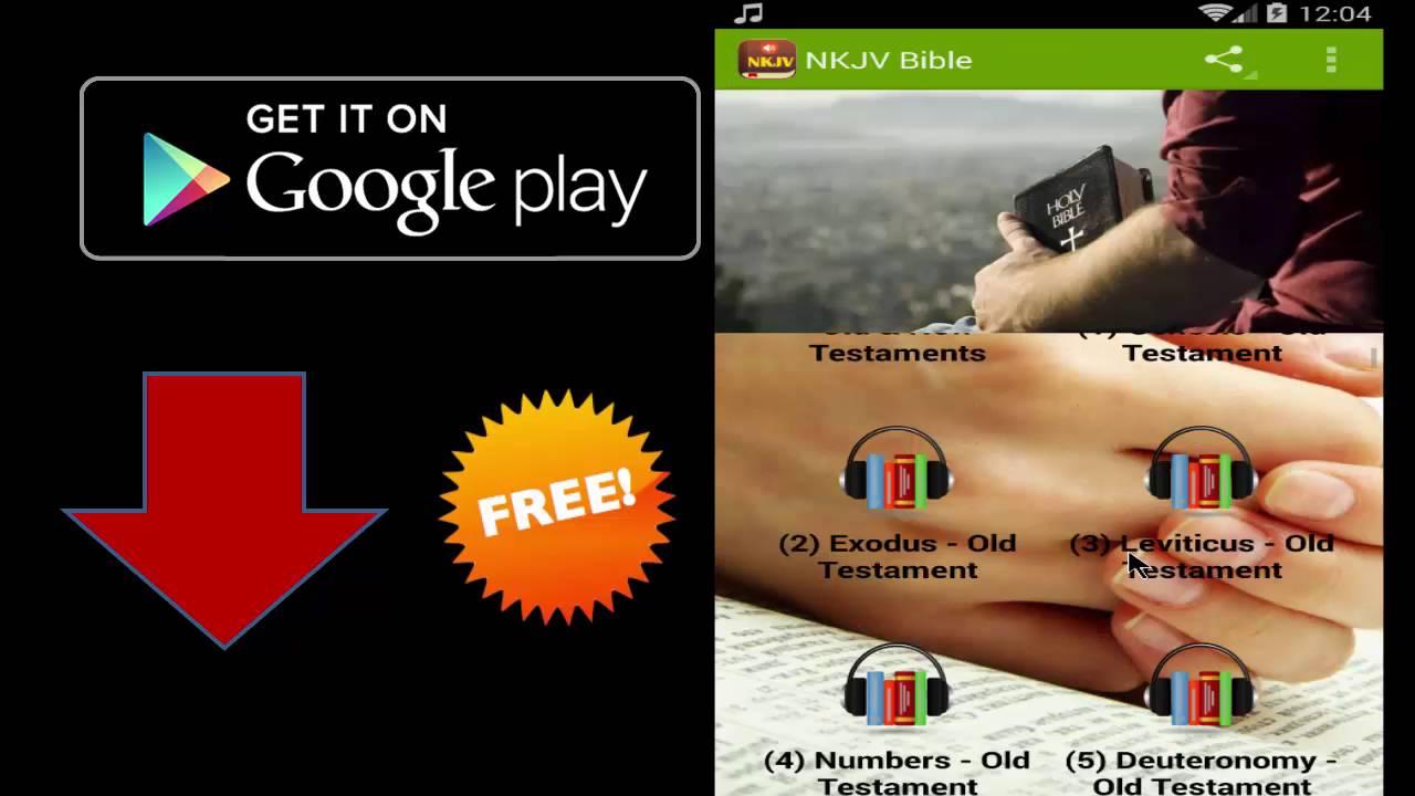 New King James Version (NKJV) - Audio Bible App