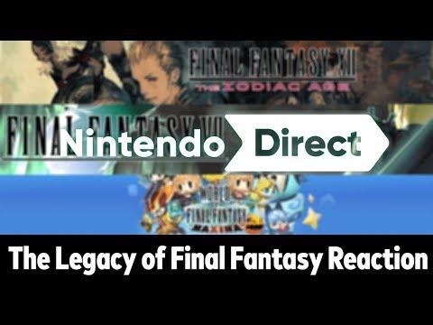 FINAL FANTASY ON NINTENDO SWITCH?! - Nintendo Direct 9.13.2018 Reaction (ft. Source Gaming)