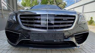 review Mercedes-Benz S-Class W222 AMG 2014 | 4K Walkthrough.  Обзор Мерседес Бенц...