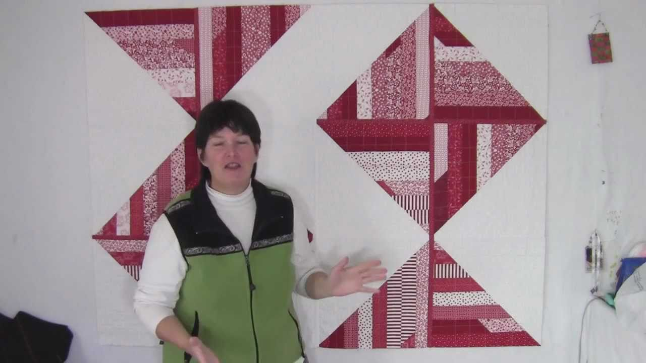 Red Amp White Jelly Roll Quilt Quilt As You Go Reimagined