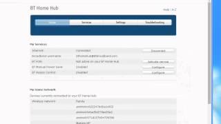 كيفية معرفة عنوان IP الخارجي الخاص بك على جهاز BT HomeHub