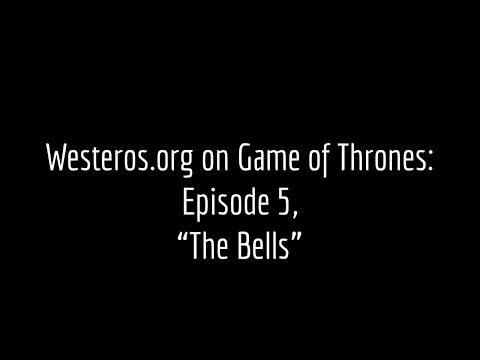 Episode Guide: The Bells