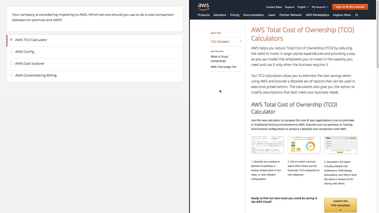 14 Practice Question Walkthrough Videos for AWS Certified