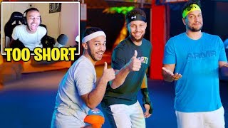 Hamlinz Reacts to Stephen Curry Challenges Hamlinz to NERF Battle!!