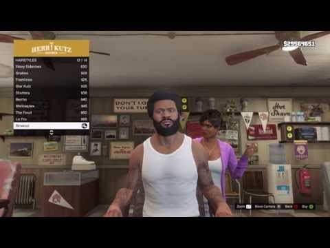 GTA V - How to Unlock Bonus Hairstyles! (Trevor, Franklin + Michael)
