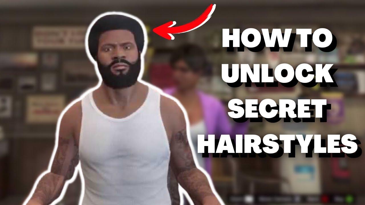 GTA V How To Unlock Bonus Hairstyles! Trevor Franklin