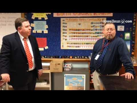 Chelmsford Superintendent Jay Lang and McCarthy Middle School Principal Kurt McPhee on needed change