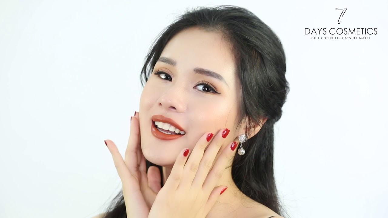 Quay quảng cáo TVC mỹ phẩm cao cấp 7days Cosmetics