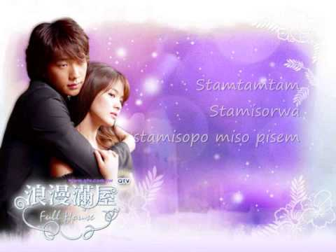 """Sha la la""-Song Hye Kyo. full house ost. Letra (Rom)"