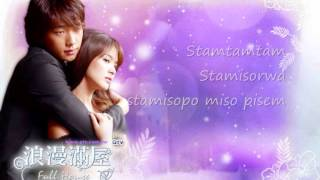 """Sha la la""-Song Hye Kyo. full house ost. Letra (kor)"