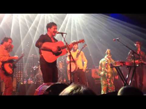 Mumford & Sons ft Dawes ft Piff - Awake My Soul - Torquay Princess Theatre