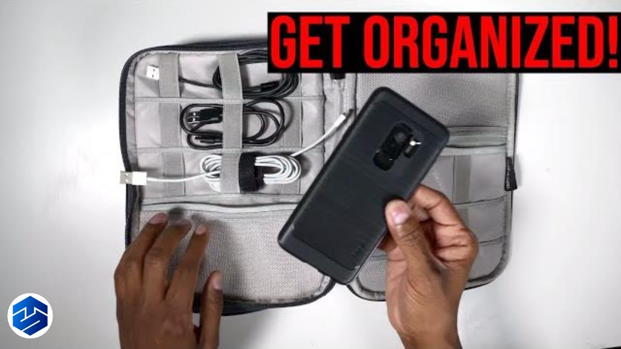 Bubm Electronic Organizer Travel Case For Gadgets Youtube Gadget