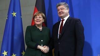 """Ангела Меркель: """"Ситуация в Донбассе вызывает обеспокоенность"""""""