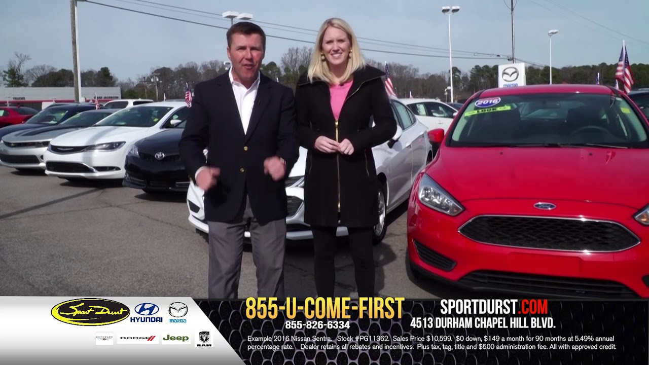 Sport Durst Durham >> Sport Durst Durham February Used Car Specials Youtube