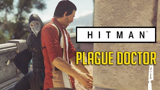 CIRCUMCISED! Hitman Plague Doctor - Fire Axe Assassin