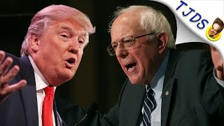 When Trump Sounded Exactly Like Bernie Sanders On Healthcare