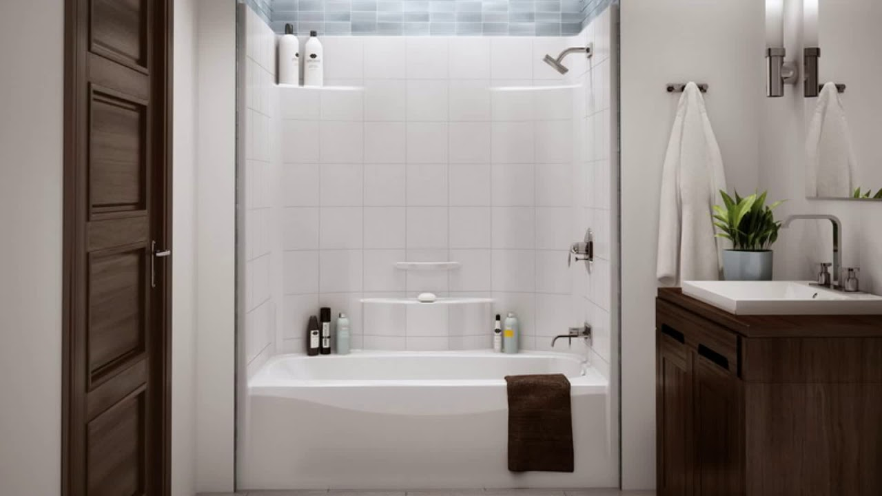 top 40 ★ small bathroom ideas with tub shower combo  youtube