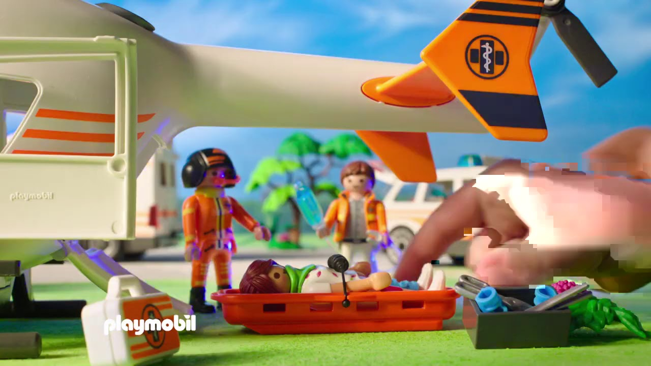 Rescue 911 | PLAYMOBIL | TV