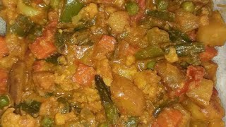 Mixed Veg Recipe | Restaurant style mix veg at home | Easy way