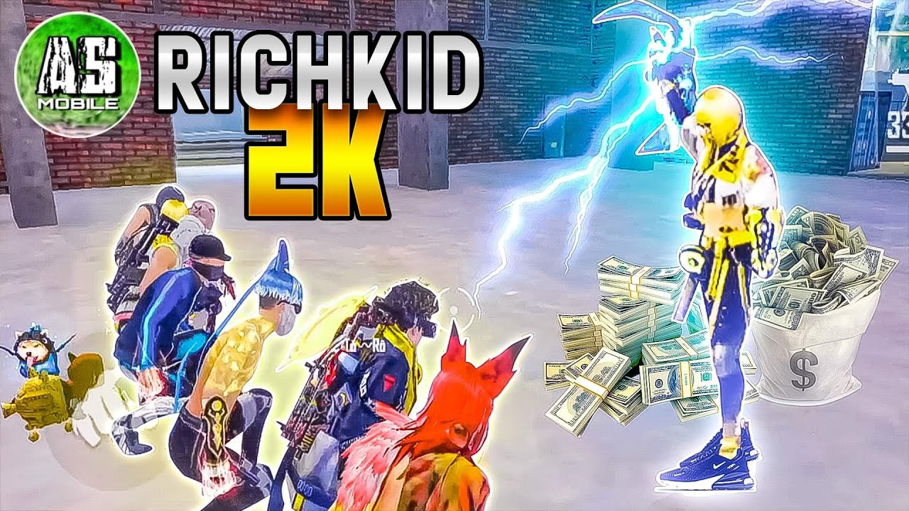 [Free Fire] Gặp Được Nữ Thần RICH KID 2K !!!   AS Mobile