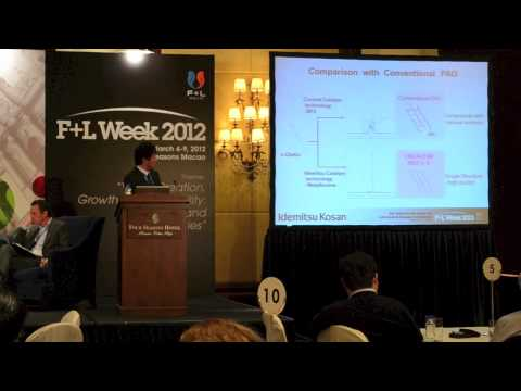 6th Asia-Pacific Base Oil, Lubricant & Grease Conference: Tatsuya Kawamura