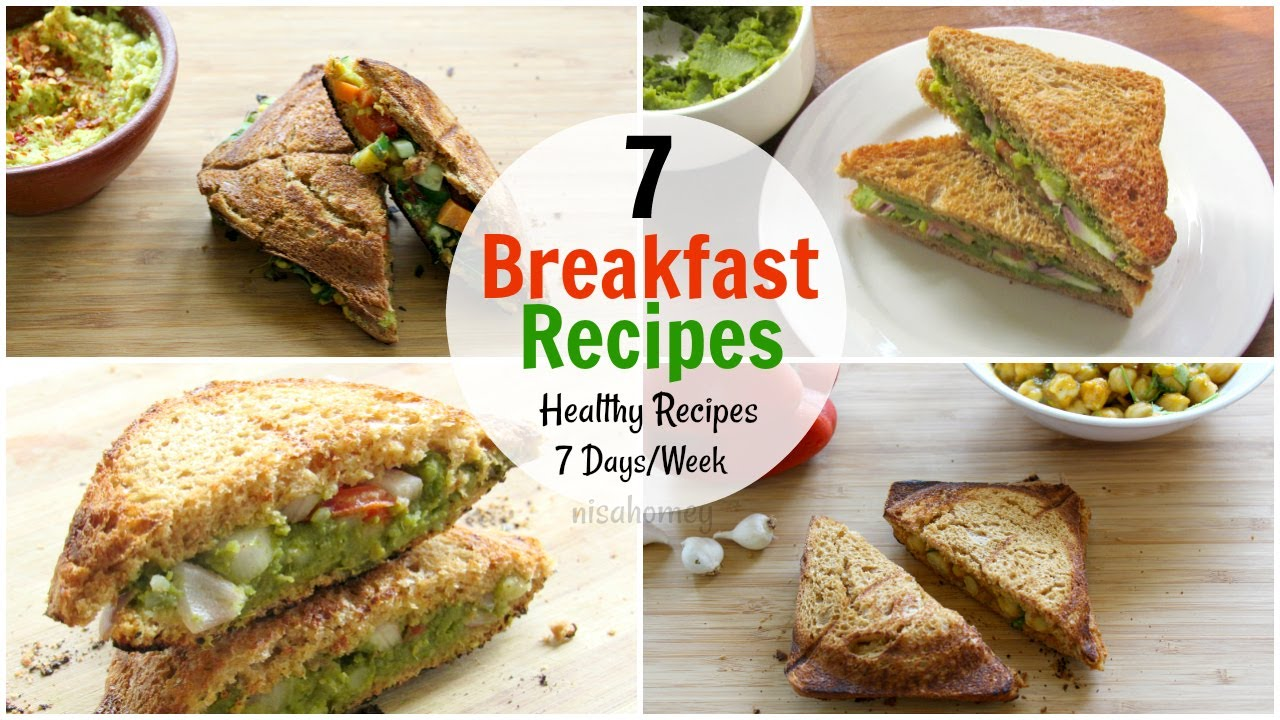 7 Breakfast Recipes For The Entire Week