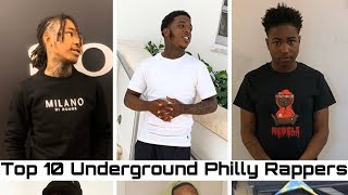 Top 10 Underground Philly Artists (I dont own the copyrights to the music used in this video)