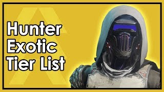 Destiny 2: The Best Hunter Exotic Armor - Datto's Tier List