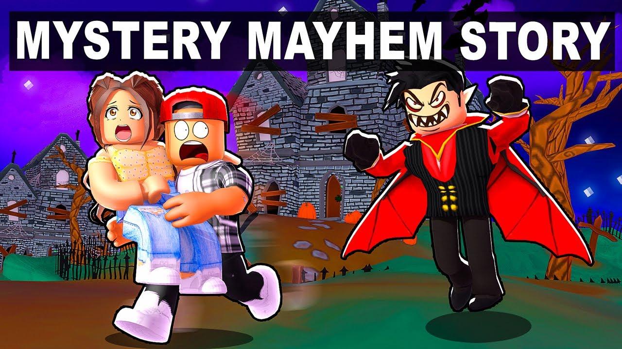 ROBLOX MYSTERY MAYHEM STORY (GOOD ENDING)