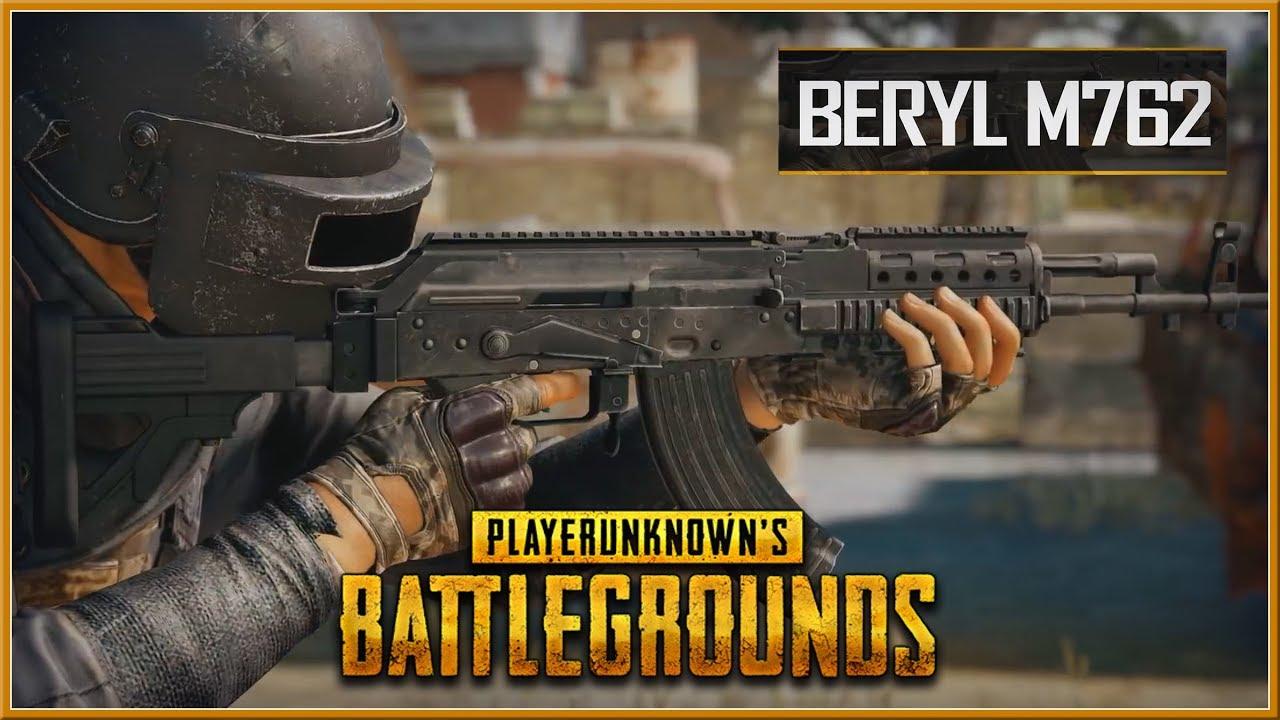 M762 Pubg: NEW Weapon Beryl M762 PlayerUnknown's Battlegrounds
