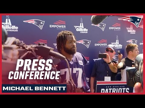 """Michael Bennett: """"I always dreamed about getting a chance to play in Gillette Stadium"""""""