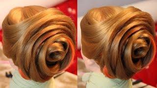 "Причёска - ""Бутон"" - 2 видео без ускорения и музыки - Hairstyles by REM"
