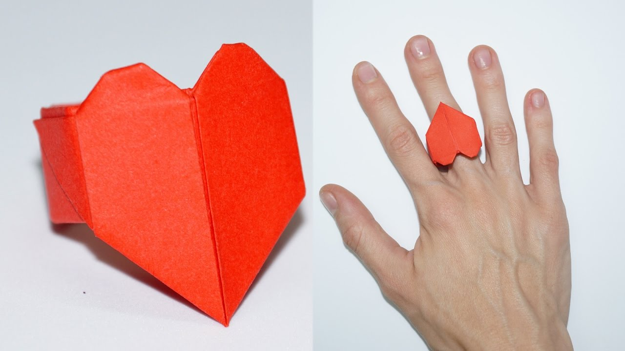 paper craft ideas for valentines day diy paper crafts ideas for valentines day ring 7858