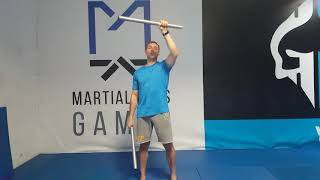 Skuteczny trening mobilności kończyn górnych z kijami -elementy ESCRIMA