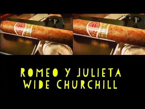 Cuban Cigar Review- Romeo Y Julieta Wide Churchill