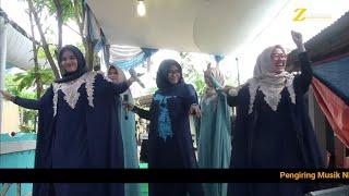 Waaaw...5 sekaligus VOCALIS cantik bergoyang di atas panggung I GHALBI MUALAQ I NEW NURUL FATAH