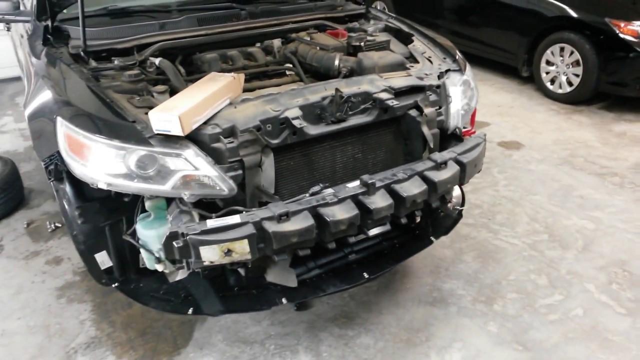 2011 Ford Taurus Front End Collision Repair Deer