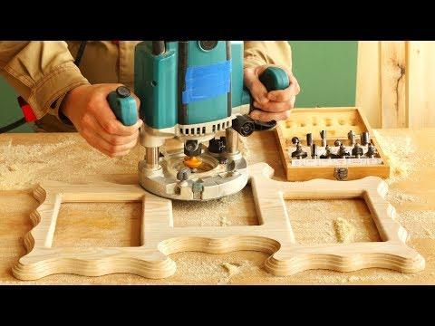 Фрезерование и изготовление тройной рамки, Milling Unusual Frame
