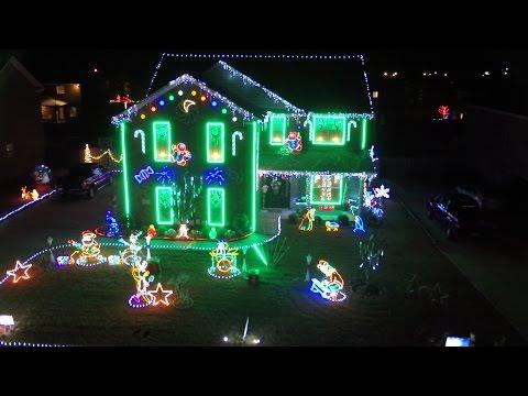 A Drone Before Christmas - Alabama's Christmas Lights 2015