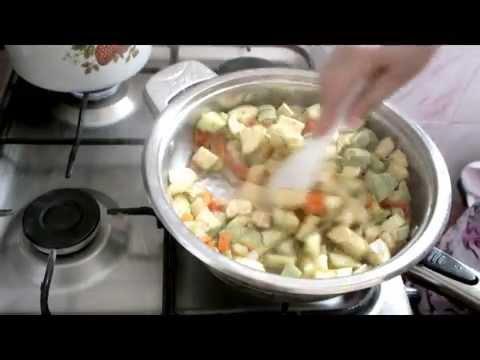 Кабачок жареный - калорийность, полезные свойства, польза