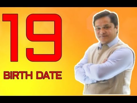 SECRET OF 19 BIRTH DATE#NUMEROLOGY NUMBER 19#19 NUMBER NUMEROLOGY READING