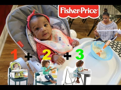 HOW TO ASSEMBLE + REVIEW ON: Fisher Price 4 In 1 High Chair