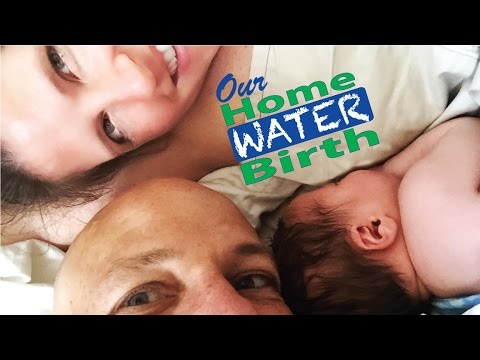 Home Water Birth Story - Labor Without Water Breaking